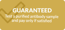 Guaranteed colorimetric immunoassay service